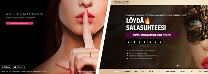 Ashley Madison vai Victoria Milan